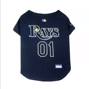TAMPA BAY RAYS DOG JERSEY SIZE L NWT BRAND NEW